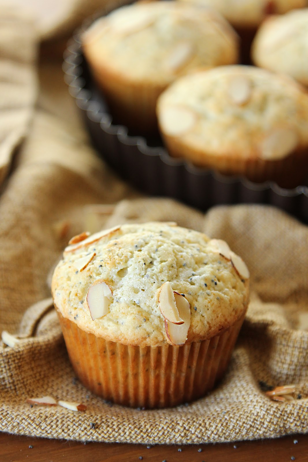 Almond Poppy Seed Muffins Life Made Simple