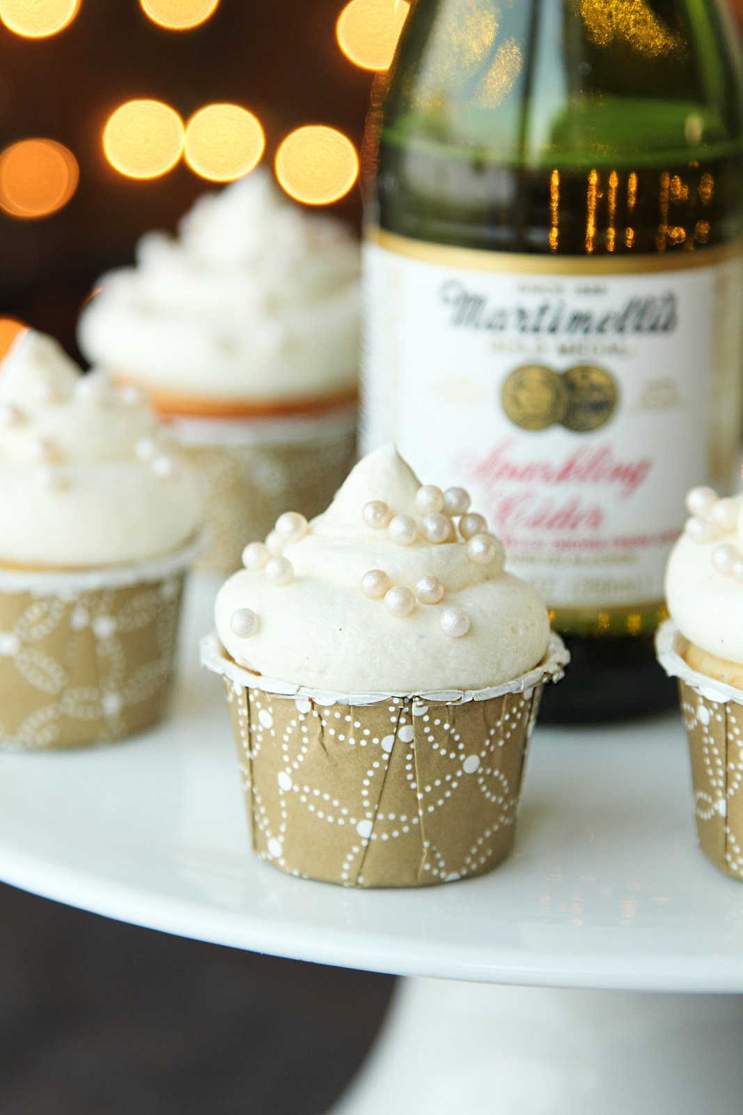 Mini Sparkling Cider Cupcakes Life Made Simple