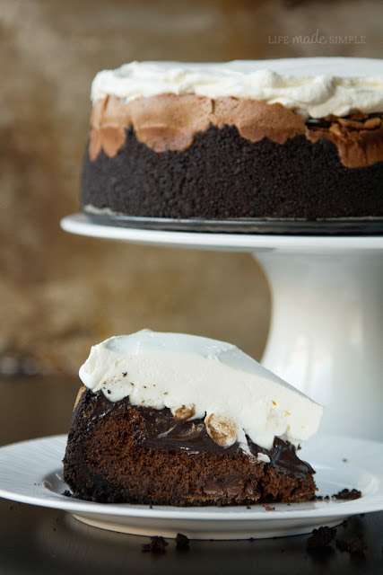 Mile High Mississippi Mud Pie   Life Made Simple