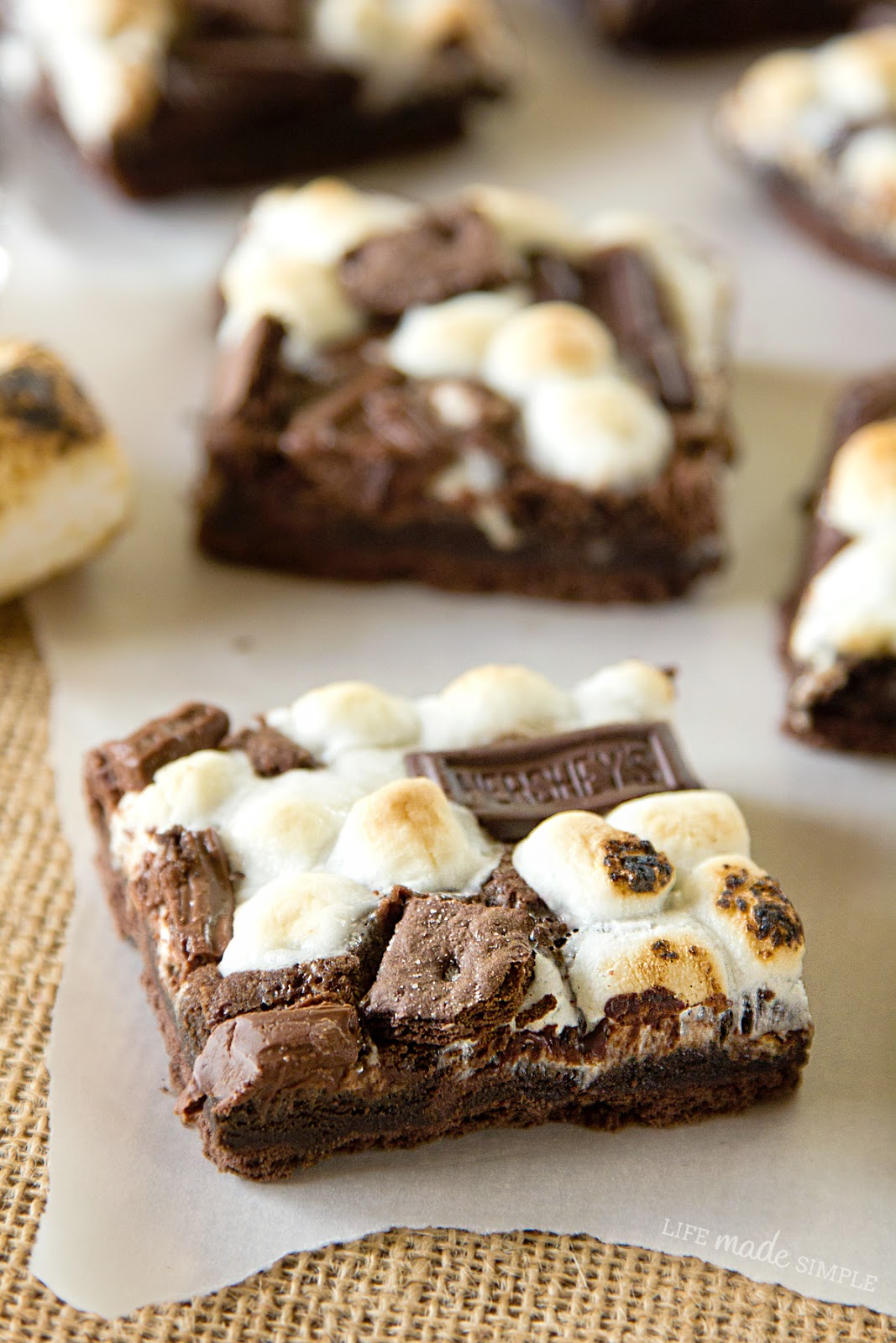 Hershey's Chocolate S'mores Bars - Life Made Simple