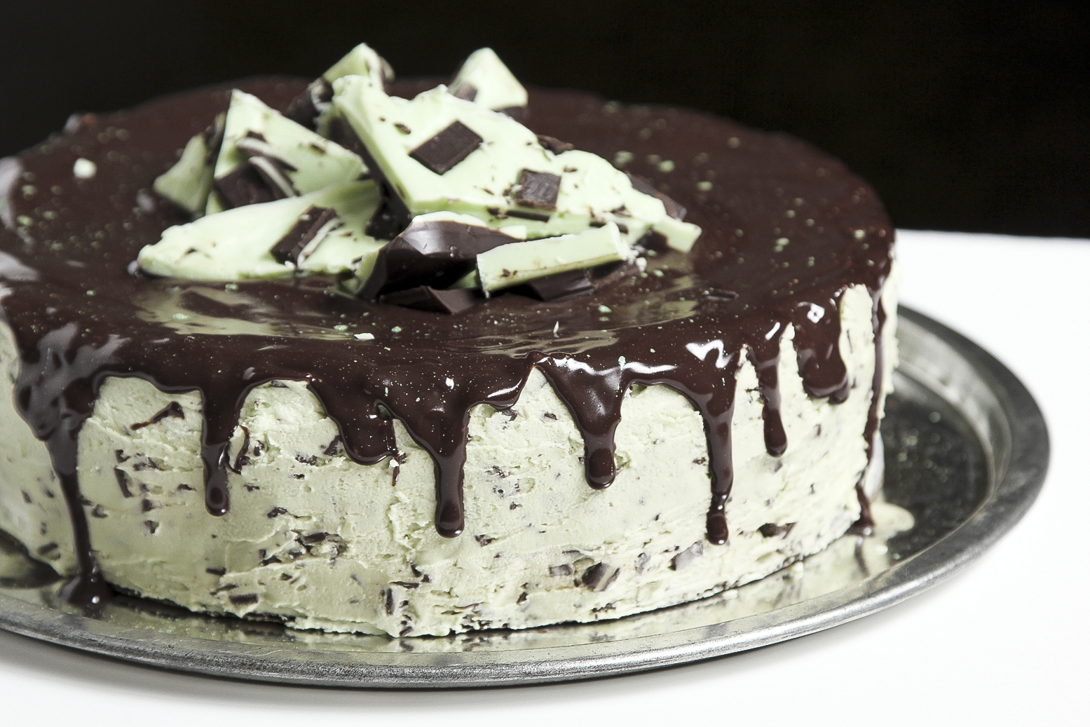 Andes Mint Chocolate Chip Cake - Life Made Simple